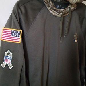 Nike Sweaters - Women LA RAMS Salute to Service hoodie 4293b73a8d